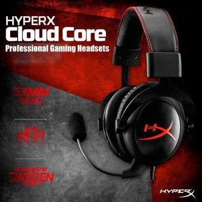 Chollo auriculares Kingston HyperX Cloud Gaming por 54 euros (Cupón Descuento)