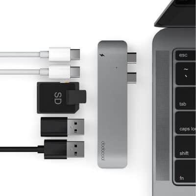 Oferta Hub USB C Dodocool para Macbook por 37 euros (Cupón Descuento)