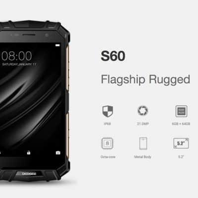 Oferta Doogee S60 por 219 euros (Cupón Descuento smartphone para aventureros)