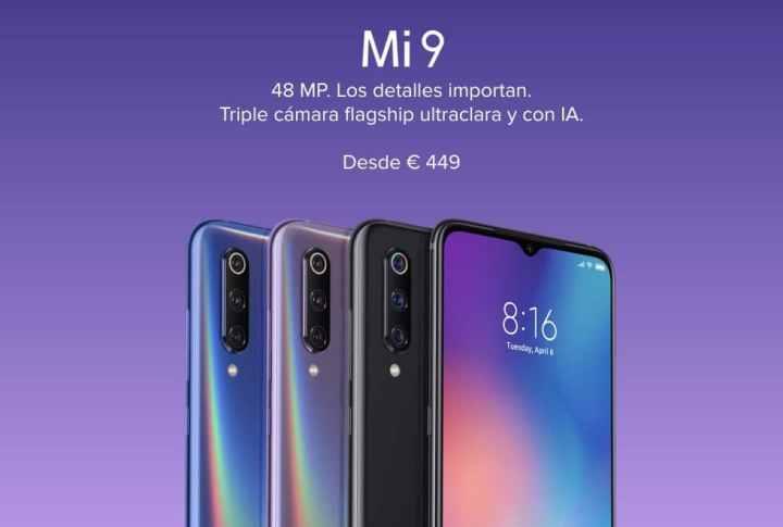▷▷ Comprar barato Xiaomi Mi9 de oferta por 319 euros (Cupón Descuento)