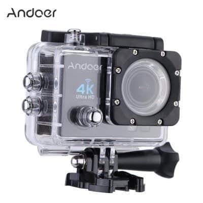 Oferta cámara deportiva Andoer Q3H 4K por 28 euros (Cupón Descuento)
