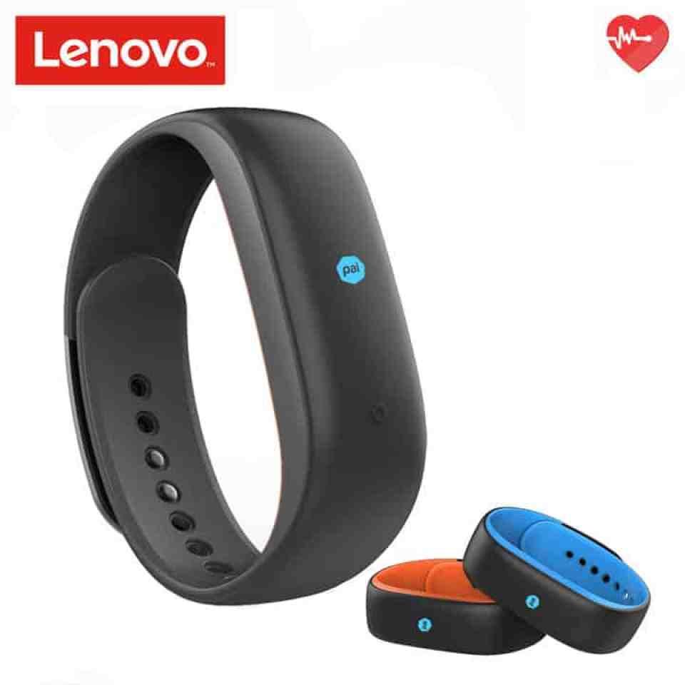 Oferta pulsera inteligente Lenovo HW02 por 26 euros