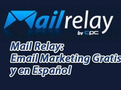 Mailrelay o como hacer mailing gratis