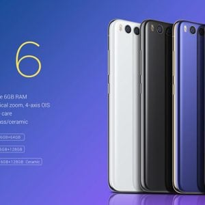 Oferta Xiaomi Mi6 por 547 euros (Oferta de lanzamiento)