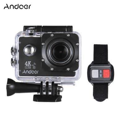 Oferta cámara deportiva Andoer 4K por 31 euros (Cupón Descuento)