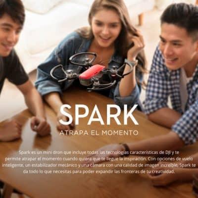 Oferta Dron DJI Spark por 514 euros (Cupón Descuento)