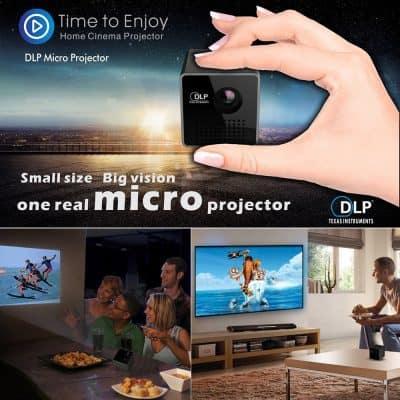 Oferta miniproyector DLP Texas Instruments por 64 euros (Cupón Descuento)