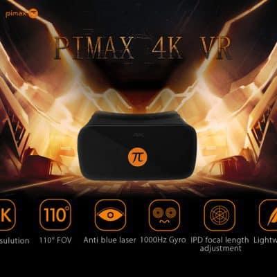 Oferta Gafas realidad virtual PIMAX 4K por 325 euros (Cupón descuento)