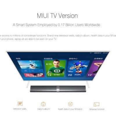 Oferta Xiaomi Mi TV Bar por 181 euros (Cupón descuento)