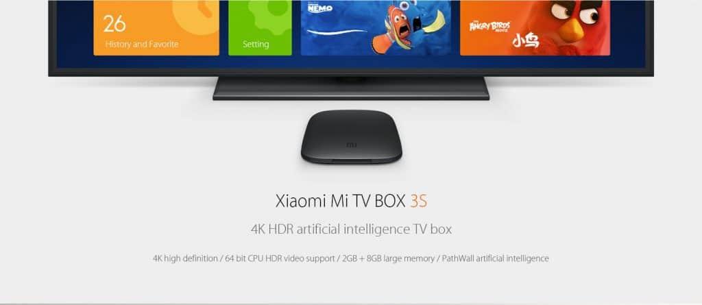 Oferta Xiaomi Mi TV Box 3S Amlogic por 48 euros (Oferta FLASH)
