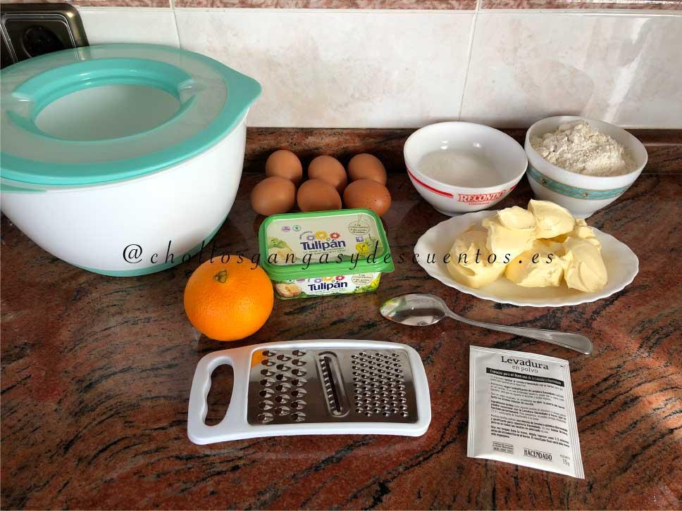 magdalenas con margarina