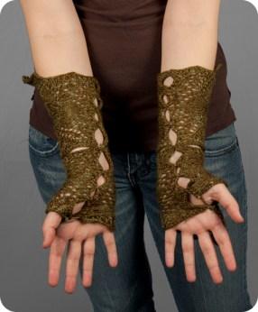 Flower Wrist Warmers2