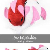 Free Pattern Friday! Love Koi Plushies