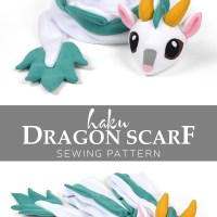 Free Pattern Friday! Haku Dragon Scarf