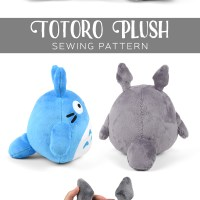 Free Pattern Friday! Totoro Plush