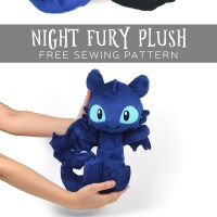 Free Pattern Friday! Night Fury Plush