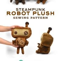 New Shop Pattern! Robot Plush