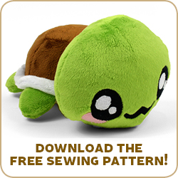 free pattern friday turtle plush