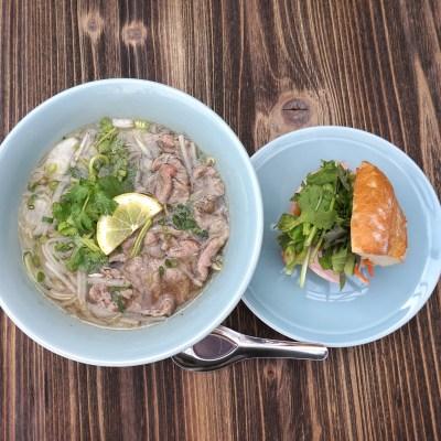 Pho and Banh Mi Set