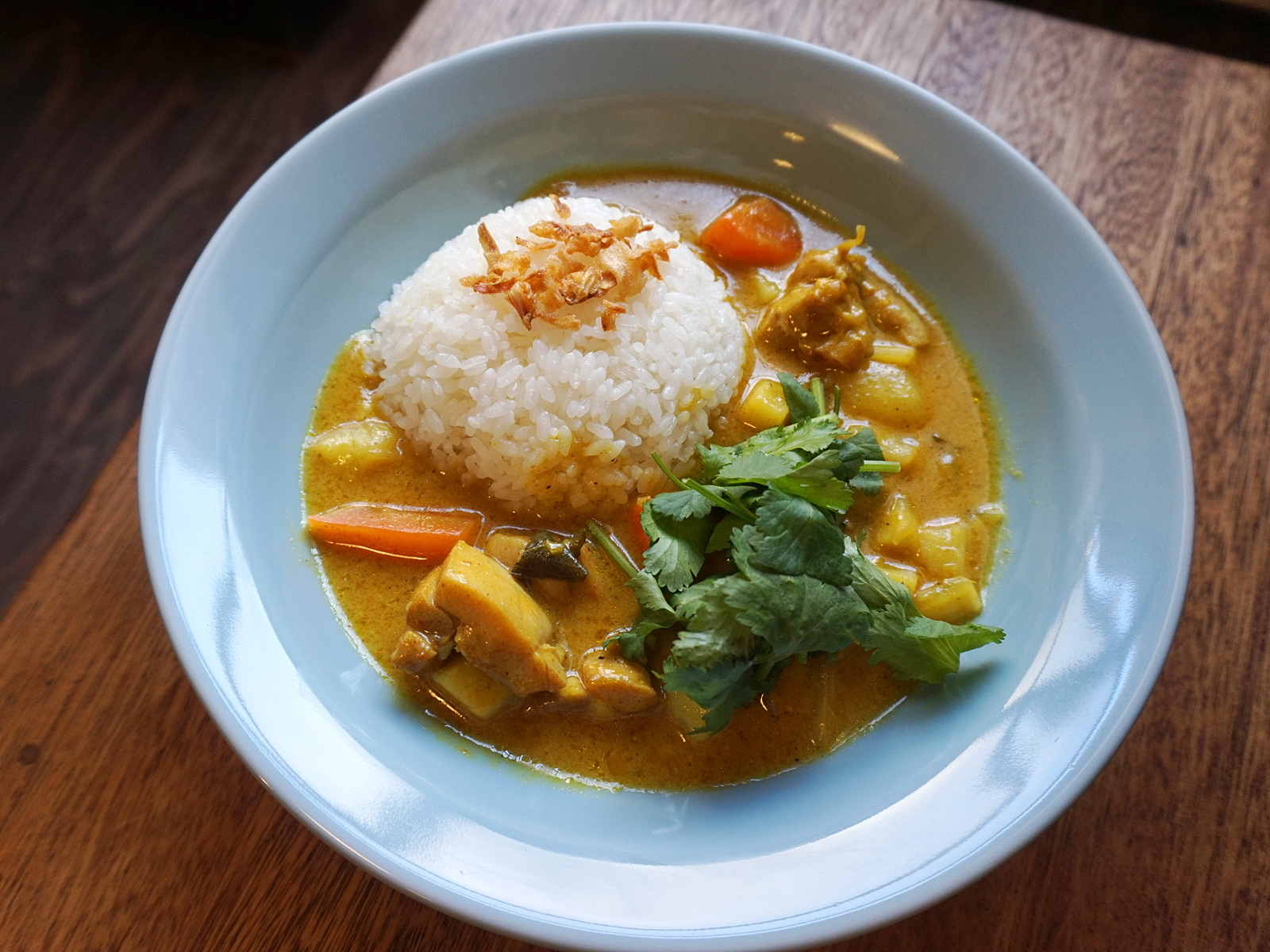 Coconut Chicken Curry Rice