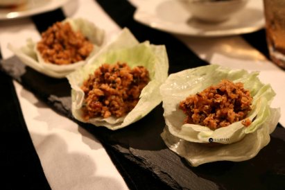 Spicy mince chicken cups