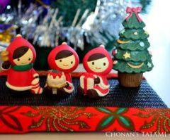 アフリカプリント 畳 ミニ畳 クリスマス