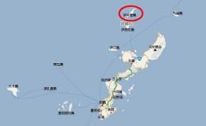 伊平屋島の場所