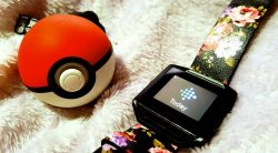 Fitness Kit #2: Motivation to get out and move. Fitness Tracker and my trusty Pokeball Plus for catching those Pokemon on the move.