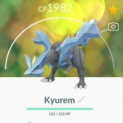 Kyurem, Pokemon from raids December 2020