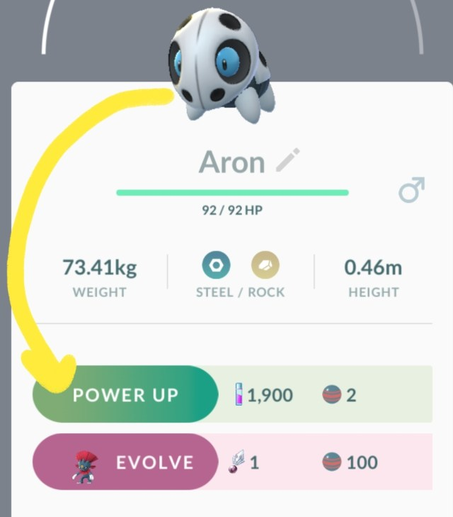 Sneasle Research Day - Aron Glitch 1