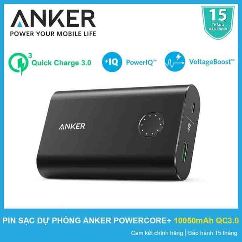 Pin Sạc Dự Phòng Anker PowerCore 10400mAh - A1214
