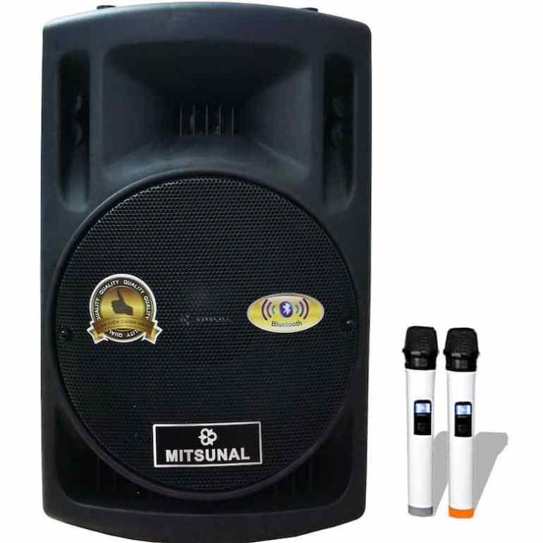 Loa kéo di động karaoke Mitsunal M27, Bass 30CM
