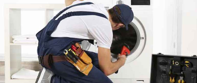 Sự cố mắc phải của máy giặt