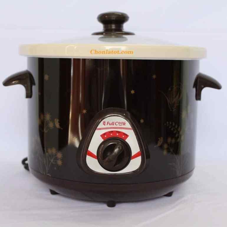 Nồi Tiềm Nấu Cháo Chậm Full Cook (2,5 lít)