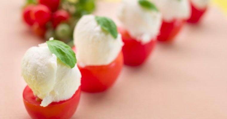 Recipes: Party Caprese 超簡單義式番茄起司沙拉