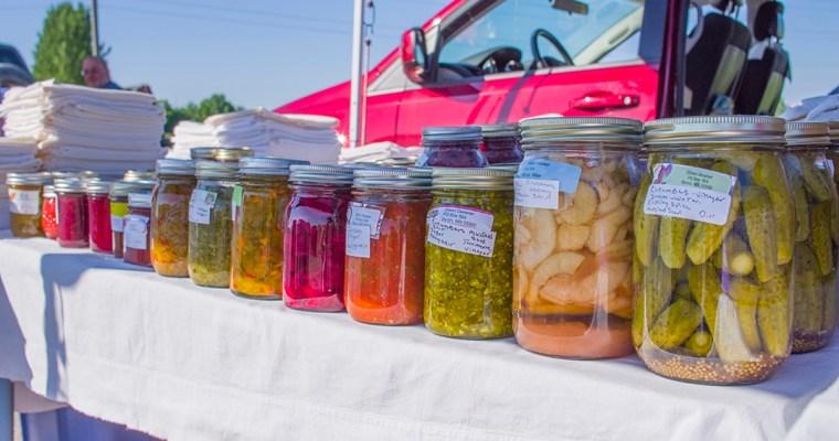 Farmers Market: Byron, MN