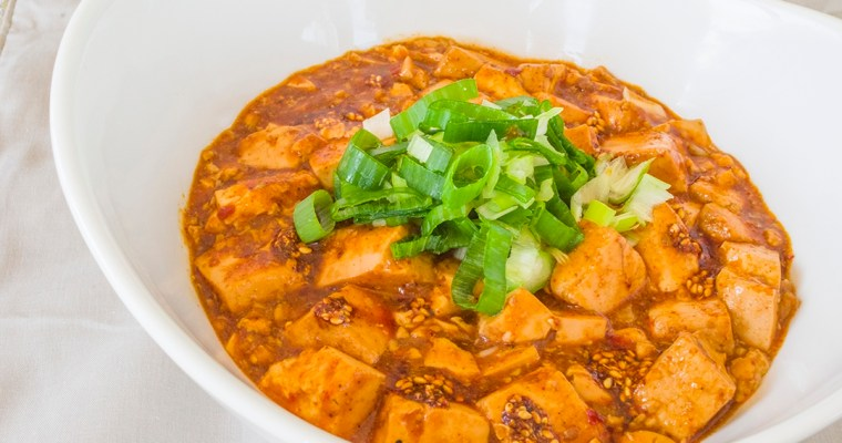 Vegetarian Mapo Tofu|蔬食麻婆豆腐