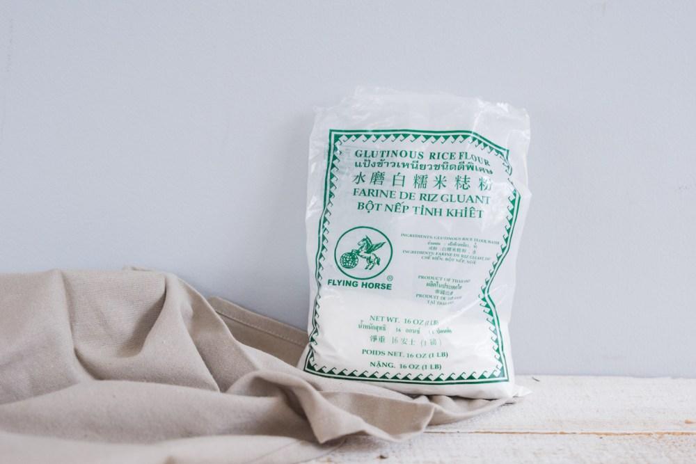 Glutinous Rice Balls (Tang Yuan) with Rice Flour | 糯米粉湯圓