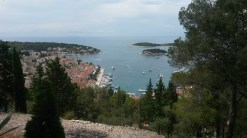 View from the castle, Hvar, Croatia