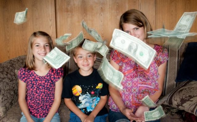 teach kids about frugality