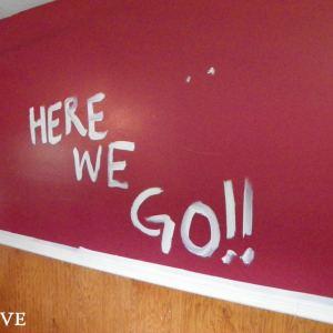 No-Money Remodel #2: Living Room (& Good-bye Red!)