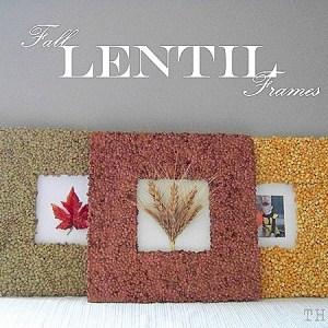 Fall Lentil Frames