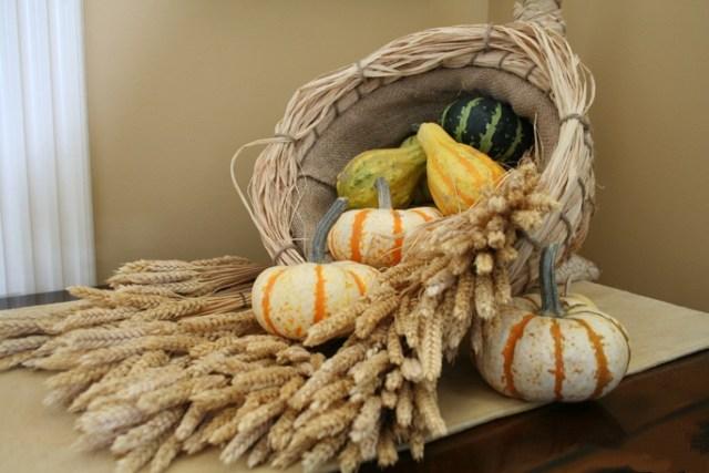 produce in the cornucopia
