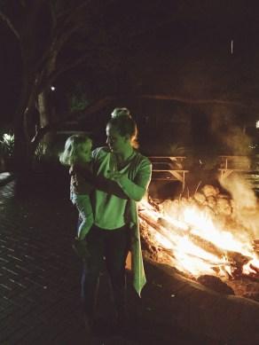 The bonfire