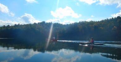 video screenshot canoes