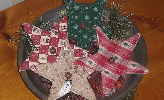 Primitive Christmas Stars