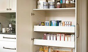 Built-in Kitchen Pantry Cabinets Ideas