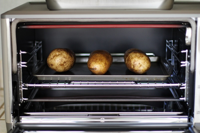 baked Potato in Toaster Oven, 7 Steps How To Make Baked Potato in Toaster Oven