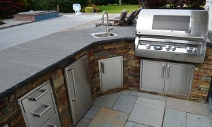 low maintenance outdoor kitchen stuff