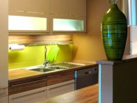 I shaped kitchen designs, I Shaped Kitchen Designs to Futuristic Theme